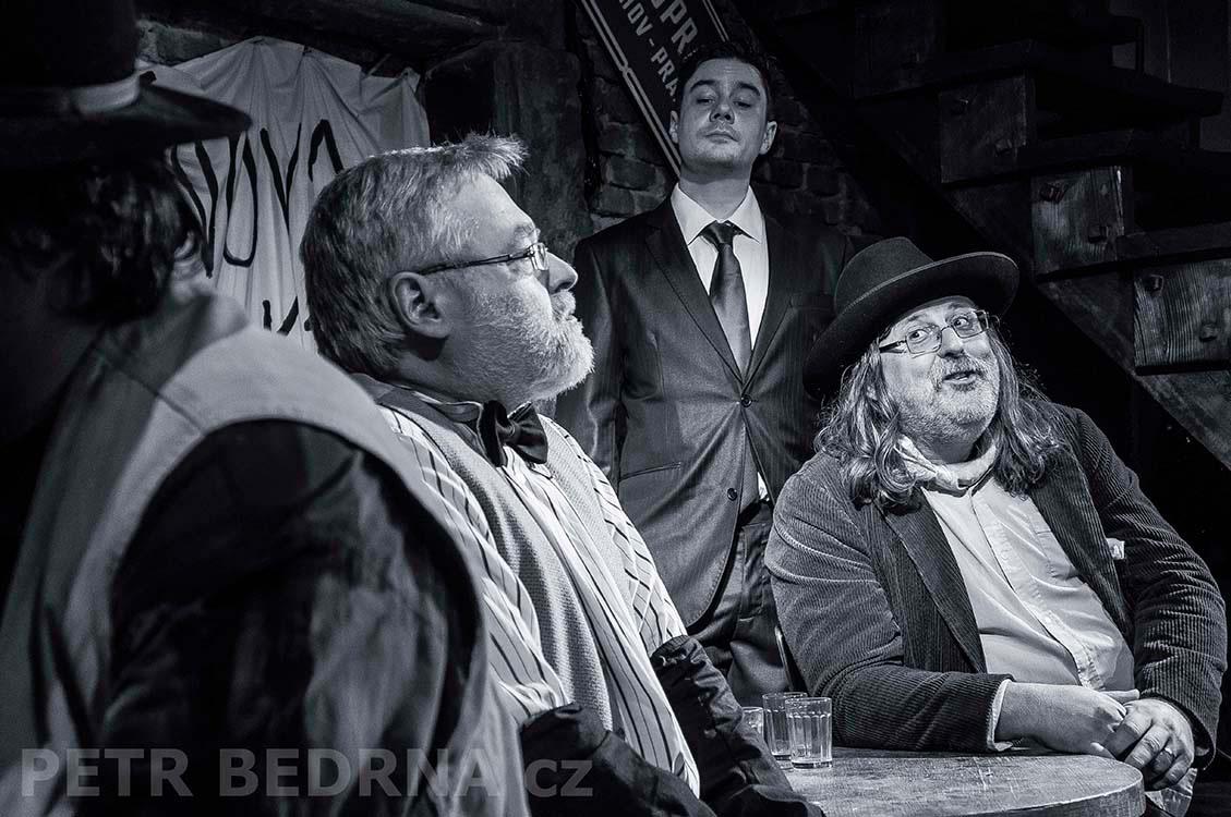 Ota Marek, Lukáš Burian, Petr Borka, 22.11.2014, Hráči - úprava a režie Petr Borka, Balbínka, Praha(2)