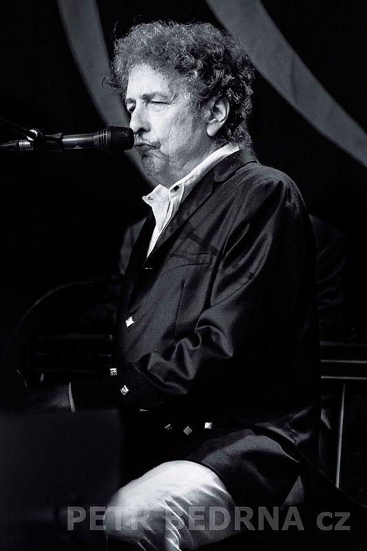 Bob Dylan, Bad Mergentheim, 6.7.2012, Schlosspark, Německo(1)