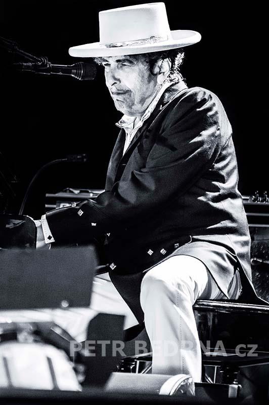 Bob Dylan, Bad Mergentheim, 6.7.2012, Schlosspark, Německo(5)