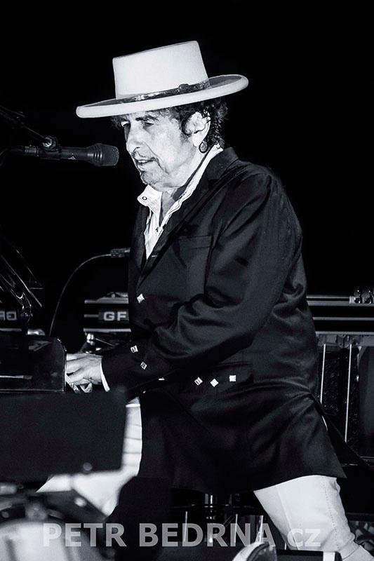 Bob Dylan, Bad Mergentheim, 6.7.2012, Schlosspark, Německo(8)