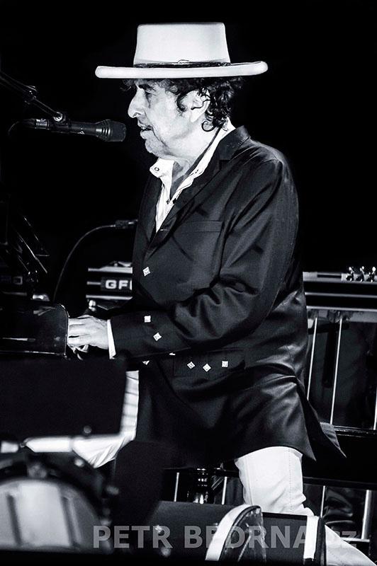 Bob Dylan, Bad Mergentheim, 6.7.2012, Schlosspark, Německo(10)