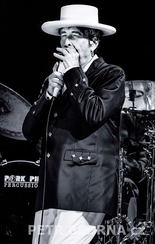 Bob Dylan, Bad Mergentheim, 6.7.2012, Schlosspark, Německo(11)