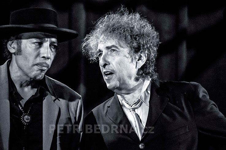 Bob Dylan, Tony Garnie, Berlin, 25.10.2013, Tempodrom, Německo(1)