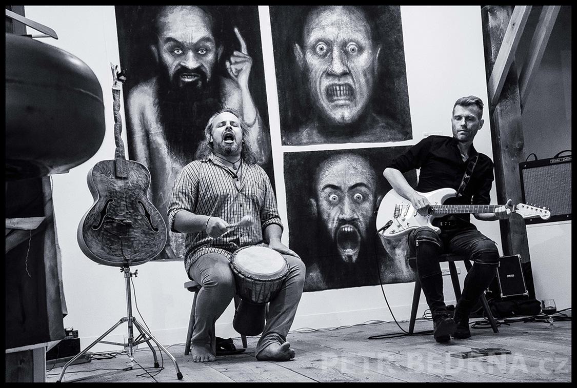 Václav Kořínek, Robert Rambousek, Galerie Klenová, 2016