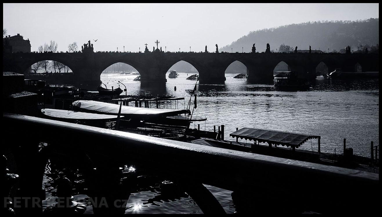 Karlův most, Alšovo nábřeží, 2017, Vltava, Praha