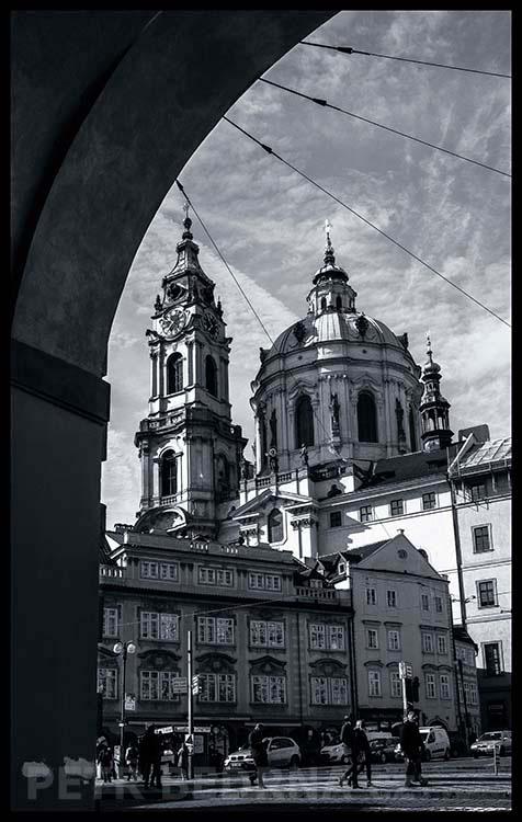 Kostel sv. Mikuláše, Malá Strana, 2015, Malostranské námestí, Praha